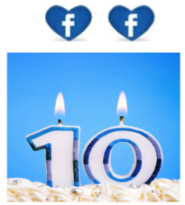 Facebook 10th Birthday