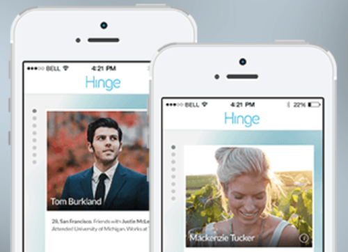 Hinge dating app usa