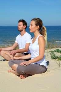 Beach Yoga Date