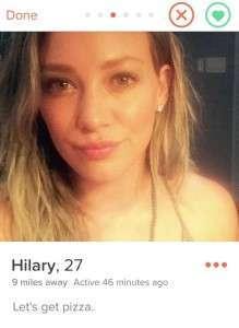 Hillary Duff - Tinder